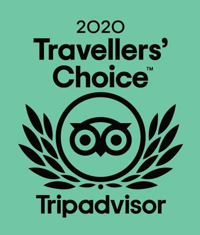 Trip Advisor Travellers' Choice 2020