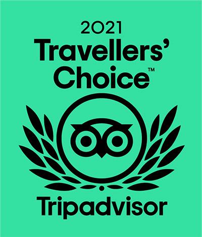 Trip Advisor Travellers' Choice 2021