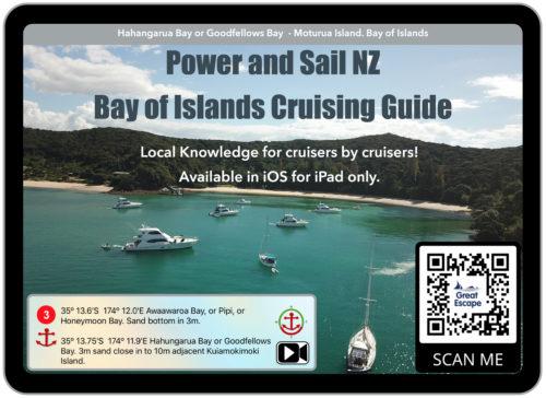Bay of Islands Cruising Guide app poster